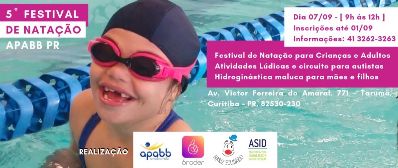 Quinto Festival de Natação APABB/PR