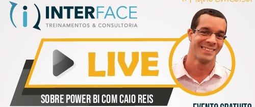 Live com Caio Reis - Power Bi | Business Intelligence