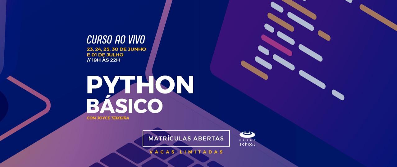 Python Básico - Ao vivo