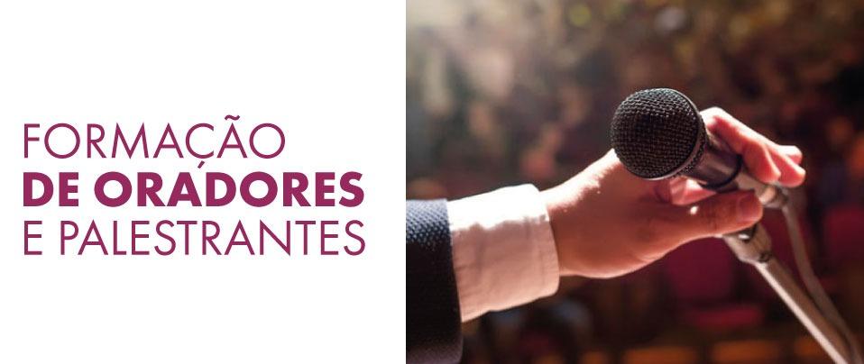 Curso Formação de Oradores e Palestrantes