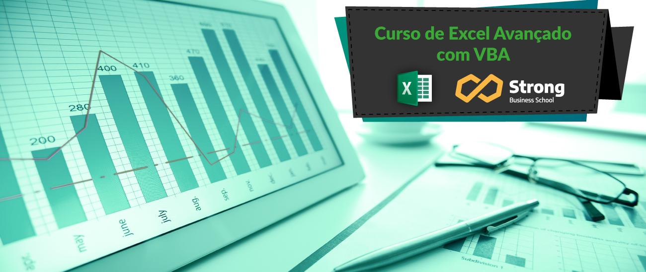 Curso de Excel Avançado com VBA Online (Ao Vivo) STRONG