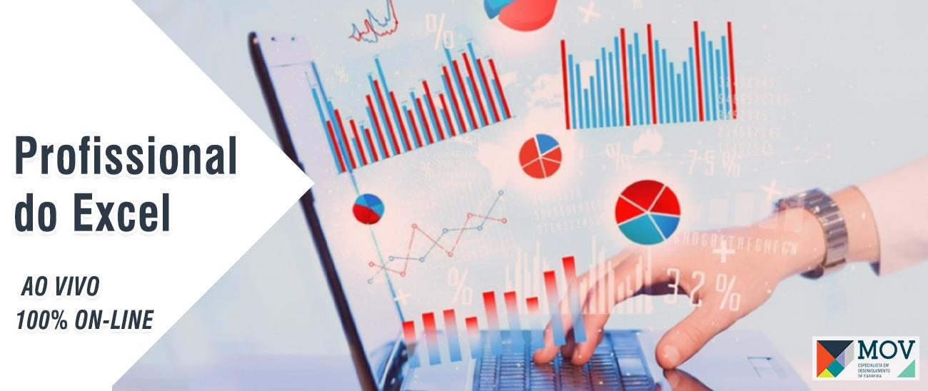 Profissional do Excel | 100% OnLine e Ao Vivo