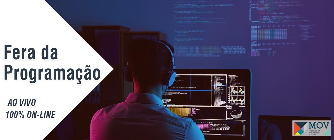 Fera da Programação| 100% OnLine e Ao Vivo
