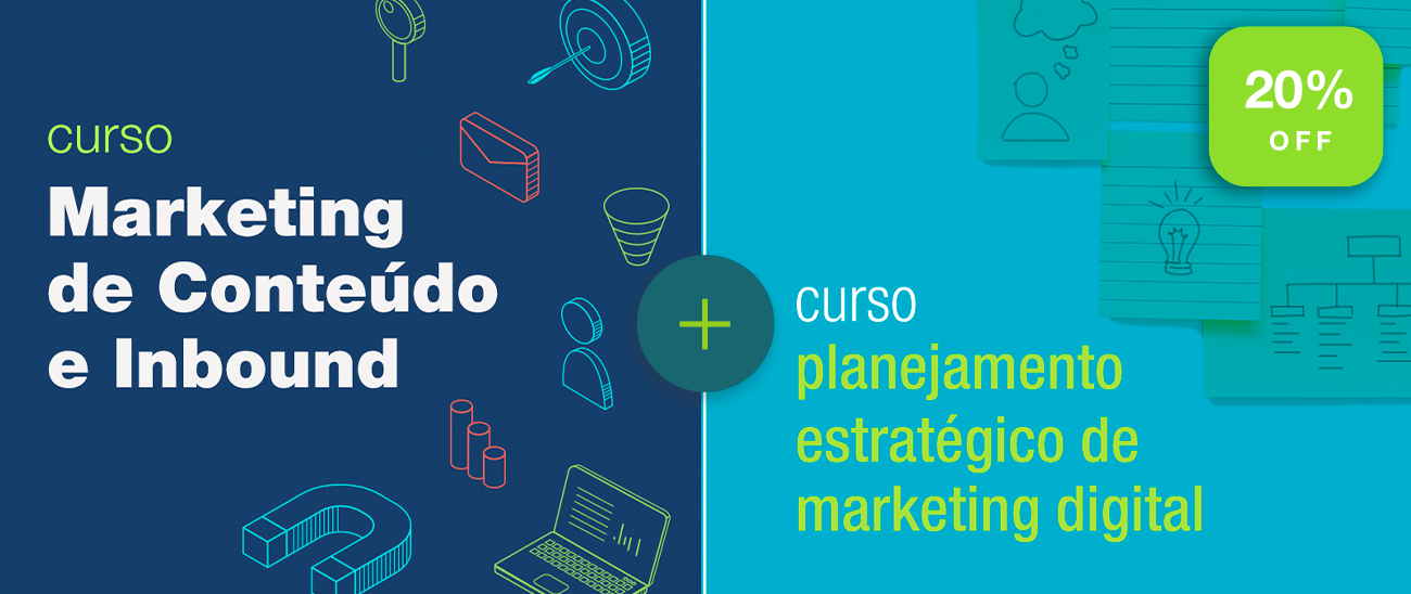 Combo Marketing de Conteúdo e Inbound + Planejamento Estratégico