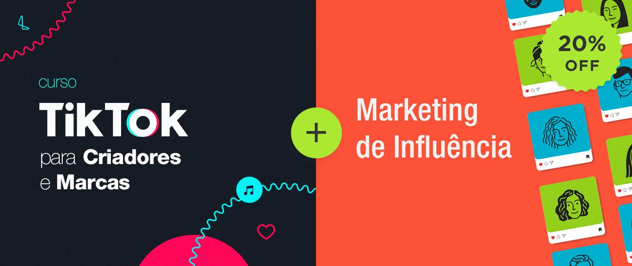 Combo TikTok para Marcas e Criadores e Marketing de Influência [ONLINE]