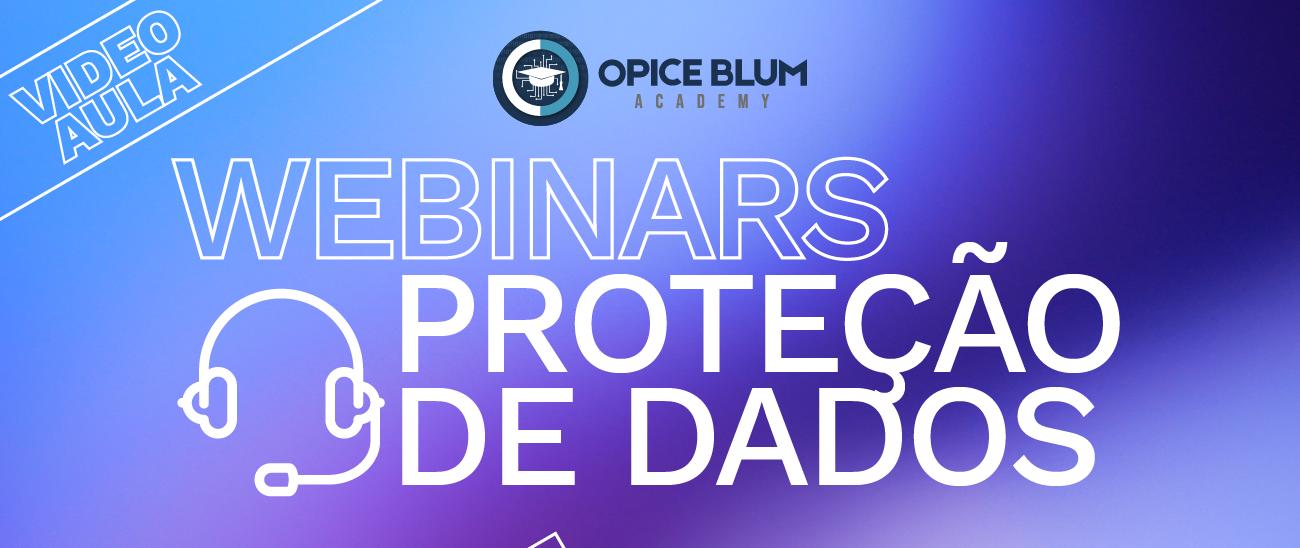 Webinars sobre Proteção de Dados