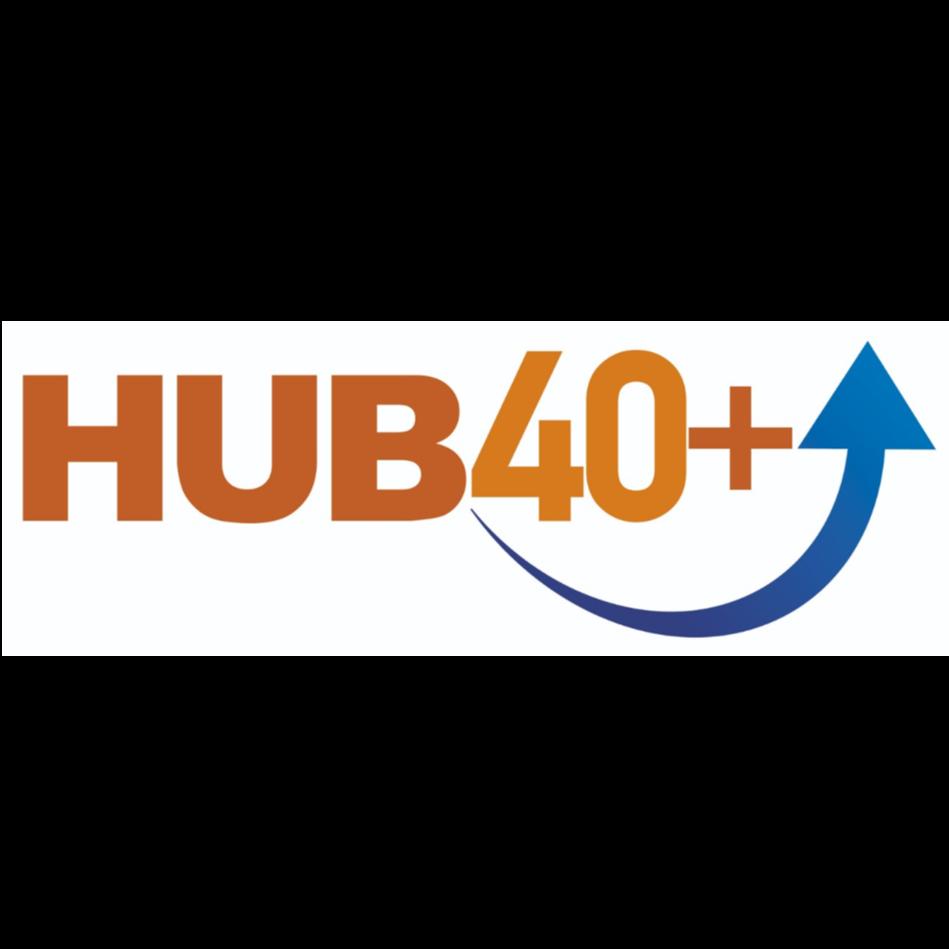 Logo HUB 40+