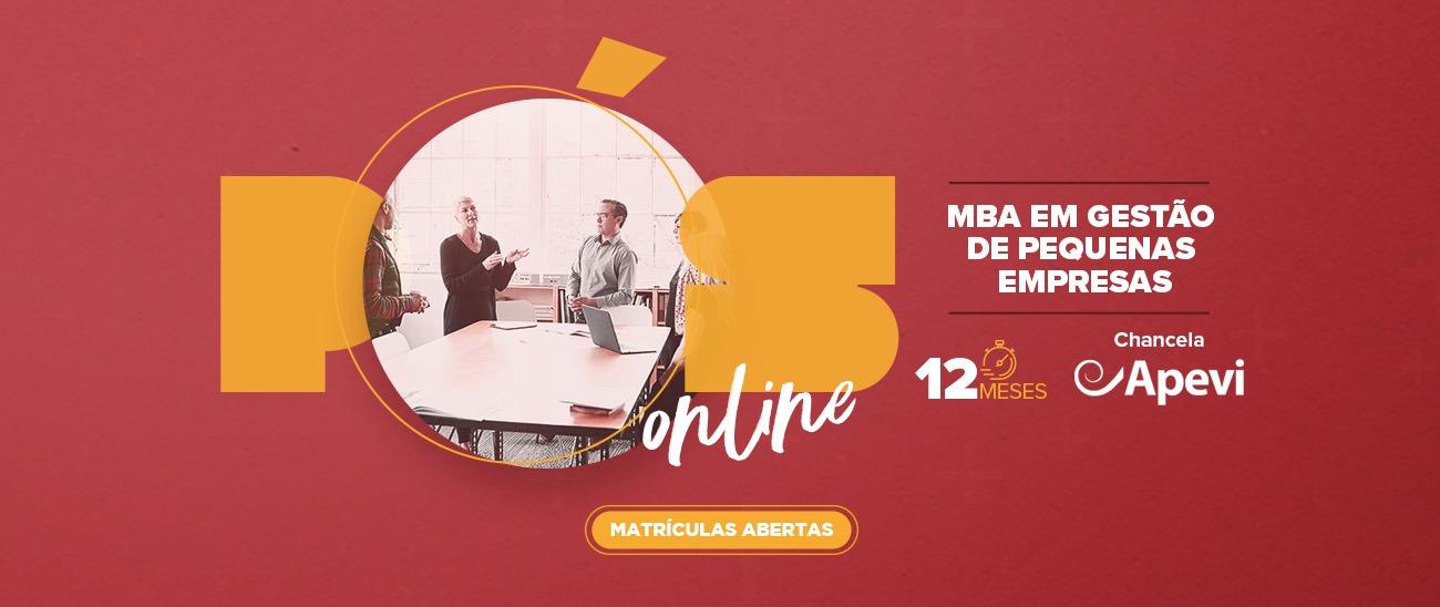 MBA EM GESTÃO DE PEQUENAS EMPRESAS