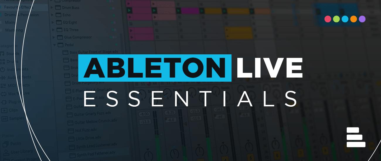 Ableton LIVE Essential